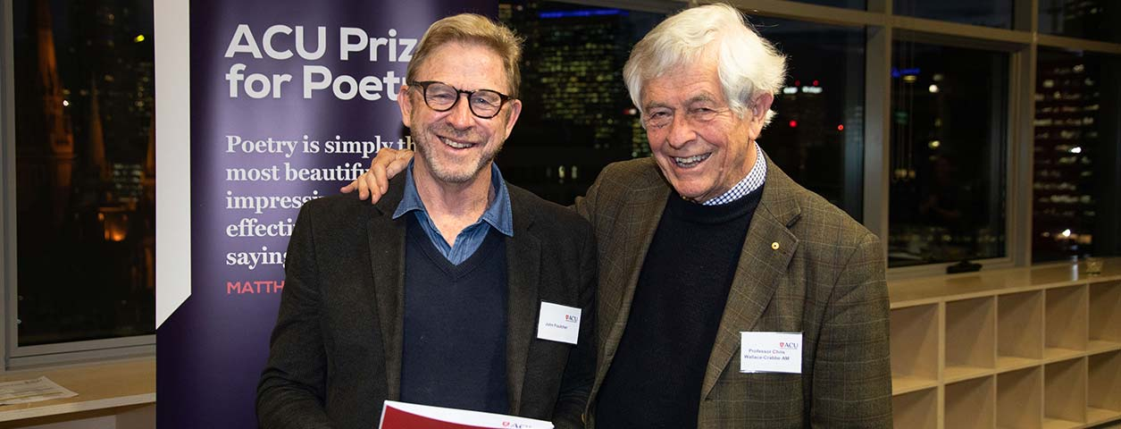 4ACULitPrize19-66-L-First-Prize-Winner-John-Foulcher-with-R-Judge-Prof-Chris-Wallace-Crabbe-1255x480